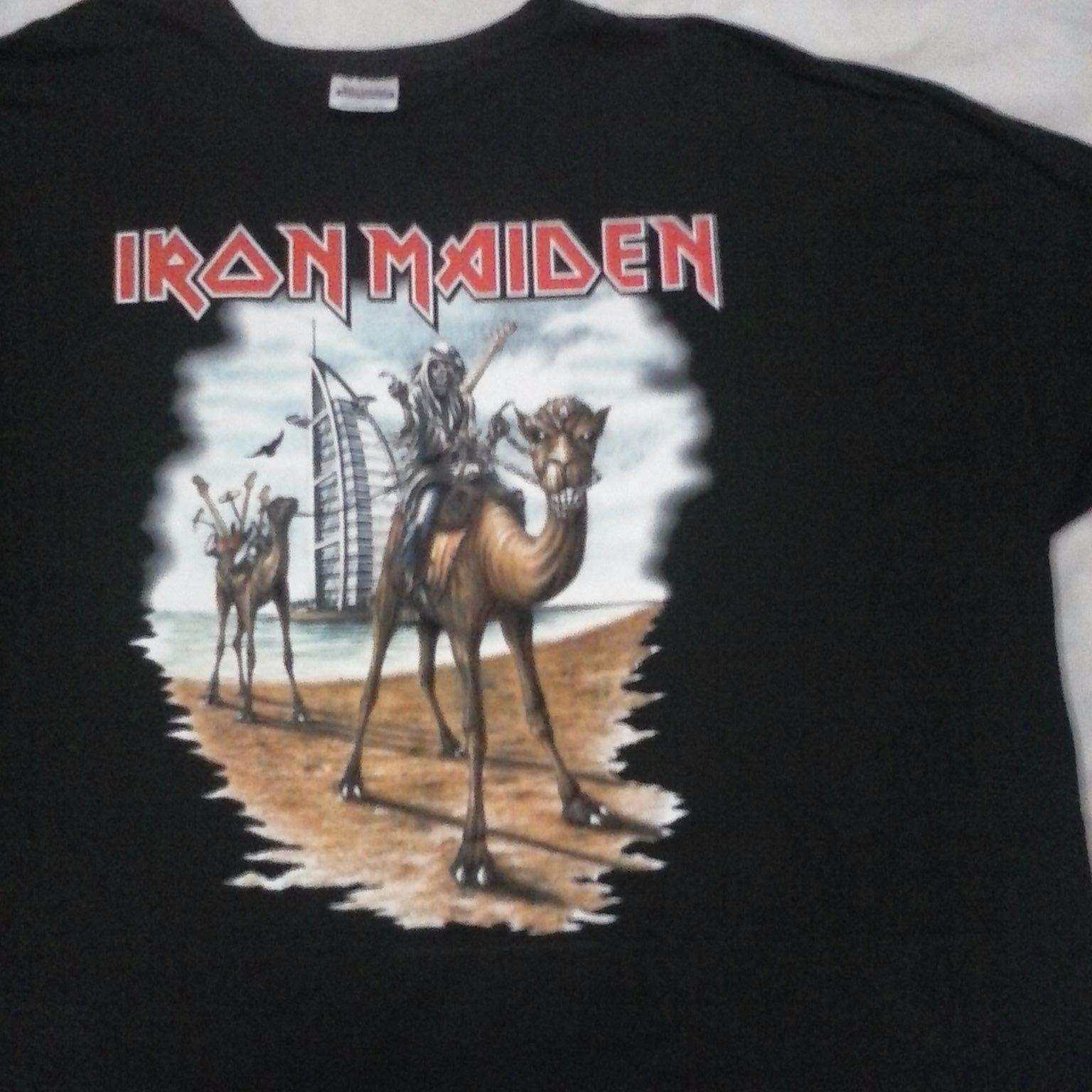 10eab9e8a94d Iron Maiden Dubai June 2007 Tour. Quality T Shirt Usa Size. Buy Tee Shirts  Great Tee Shirts From Sportswearing, $11.01| DHgate.Com