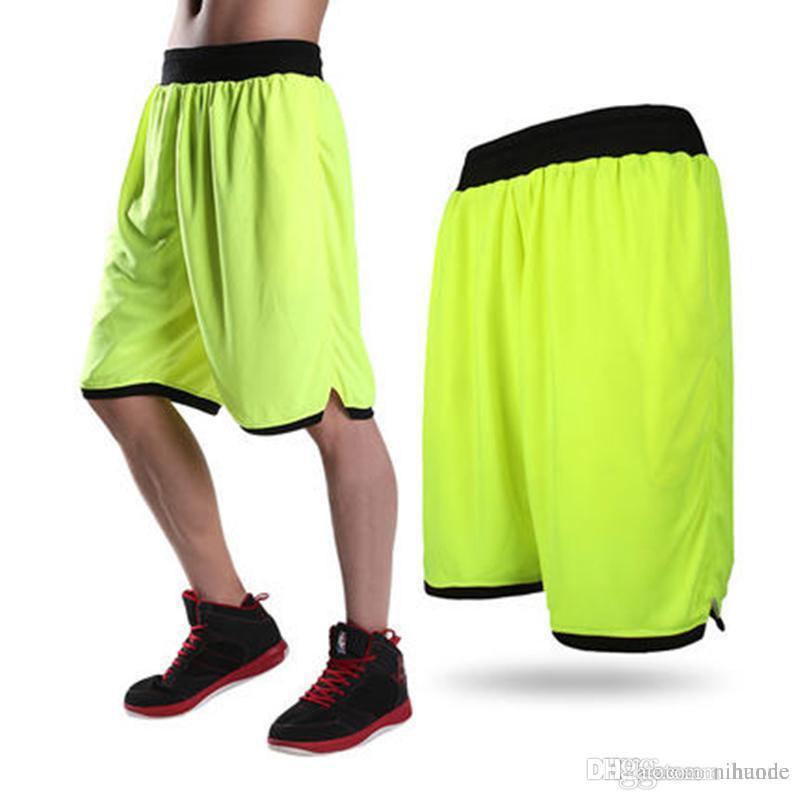 1253a4ed825 Wholesale-Loose Casual Shorts Men Polyester Mesh Short Pants Homme ...