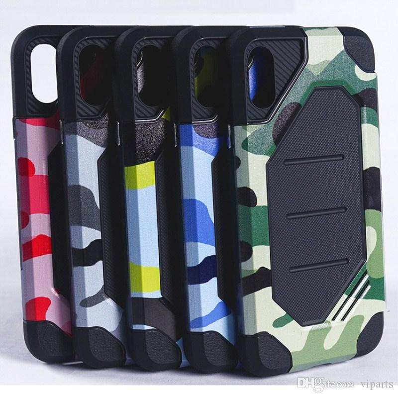 dbcc82ced Camouflage Bumblebee Armor Case For IPhone X 10 8 Plus Combo TPU PC  Shockproof Back Cover For Samsung Galaxy Note 8 Waterproof Cell Phone Cases  Wallet Cell ...