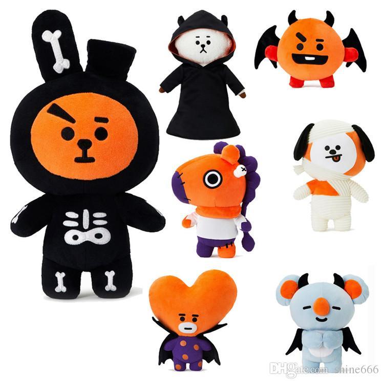 Compre K Pop Bts Decoracion De Halloween 2018 Decoracion Muneca Tata