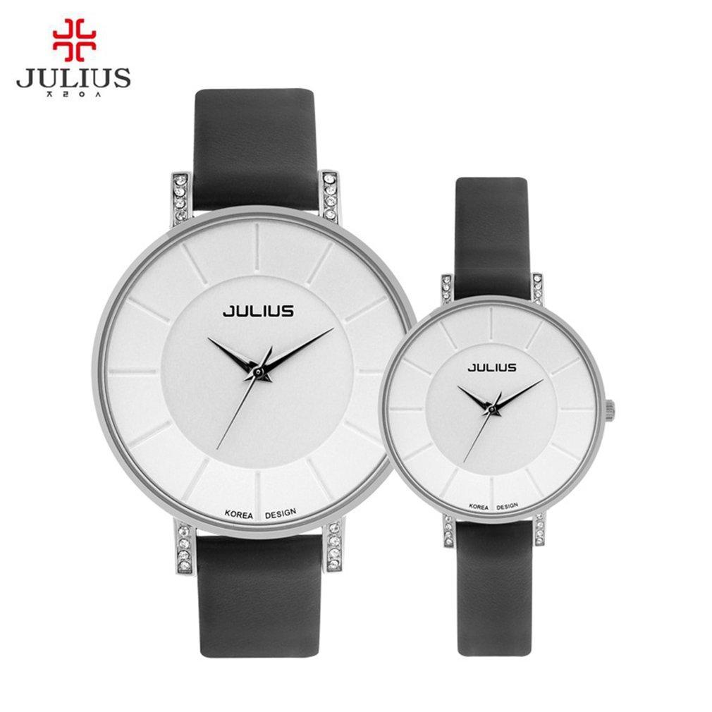 6d3b55b04ae5 Compre Relojes De Cuarzo De Julius Lover s 8mm Reloj De Pulsera De Reloj De  Lujo De Marca De Moda Ultra Delgada De Marca Casual Con Caja De Regalo Ja  766 A ...