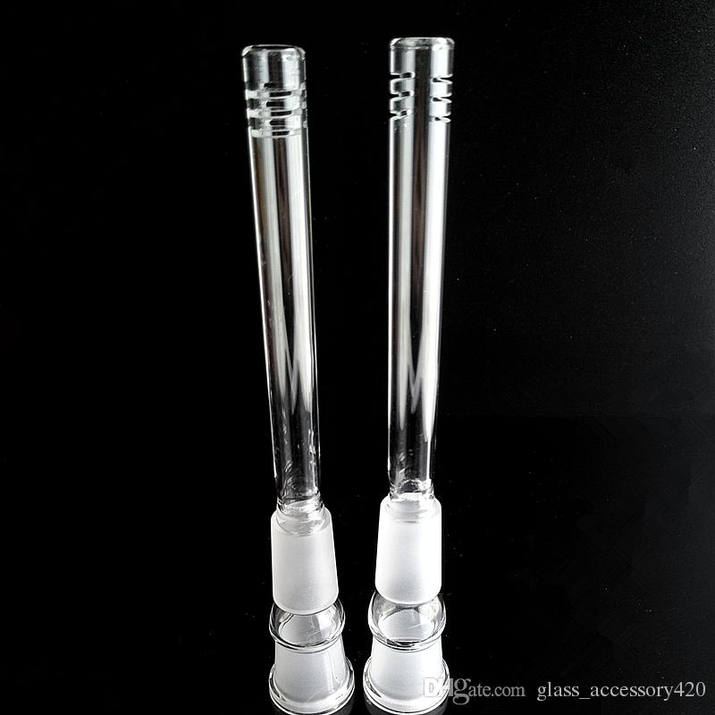 Glass downstem diffuser 18mm to 18mm Male Female Joint glass down stem for glass bongs water pipes