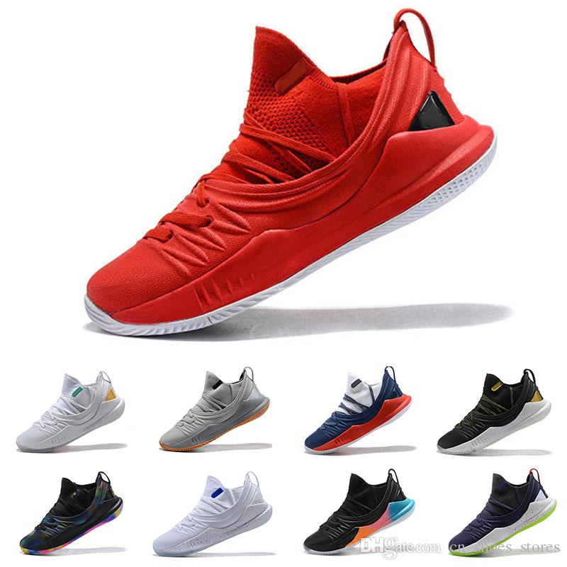4051b19ad38c Stephen Curry 5 Basketball Shoes Stephen Men Curry 5 Gold ...