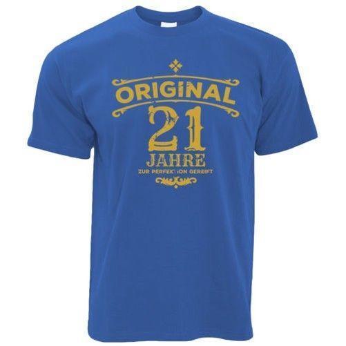 Grosshandel Geburtstag Herren T Shirt Original 21 Jahre In Perfektion