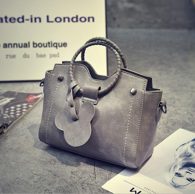 929425fd444a Fashion New Handbags High Quality PU Leather Women Bag Woven Ring ...