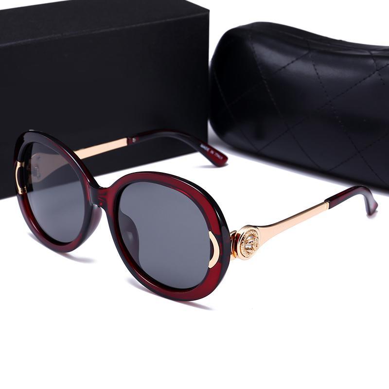1b7856075c2 New Big Frame Sunglasses 55007 Luxury Women Brand Designer Popular ...