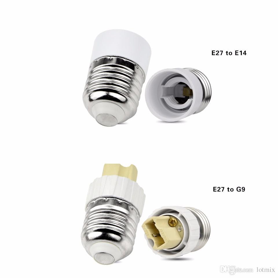 LED bulb Screw Base Lamp Socket Holder A220V 110V E14 E27 B22 GU10 E12 G9 LED Light Adapter for LED bulb 5W 7W 9W 15W