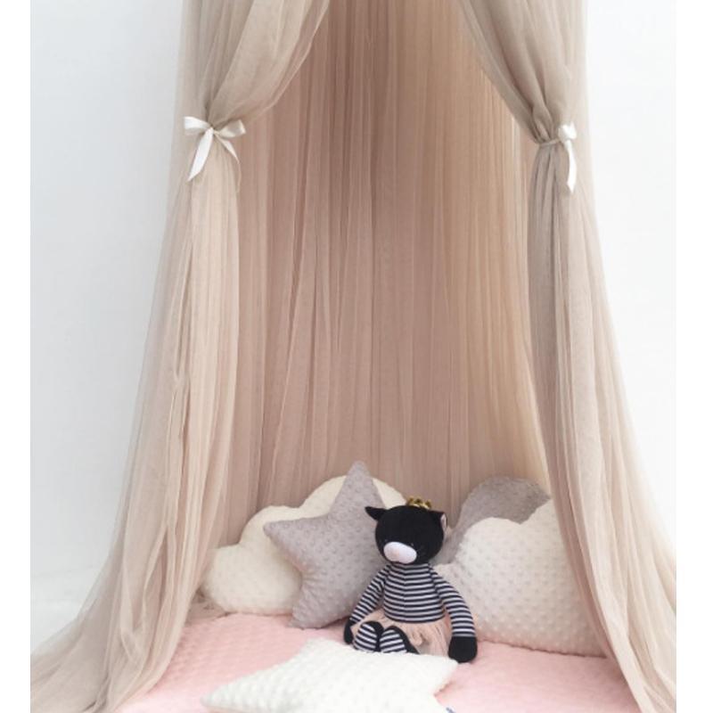 Grosshandel Runde Baby Bett Moskitonetz Dome Hangen Baumwolle