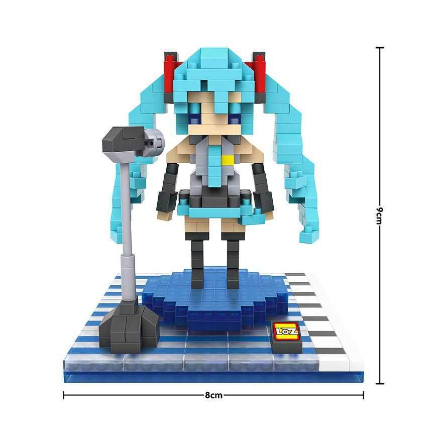 Mini Figures Blocks Mattoni Building LOZ Sailor Moon Dolls Diamanti Building Blocks Giocattoli bambini Mini Brick Bambini