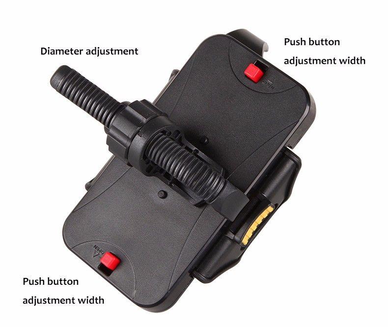 Evrensel Bisiklet Telefon Tutucu 54mm-84mm Genişliği Antiskid Bisiklet Telefonu Montaj iPhone 7 Için Cep Telefonu Desteği 6 artı Samsung için