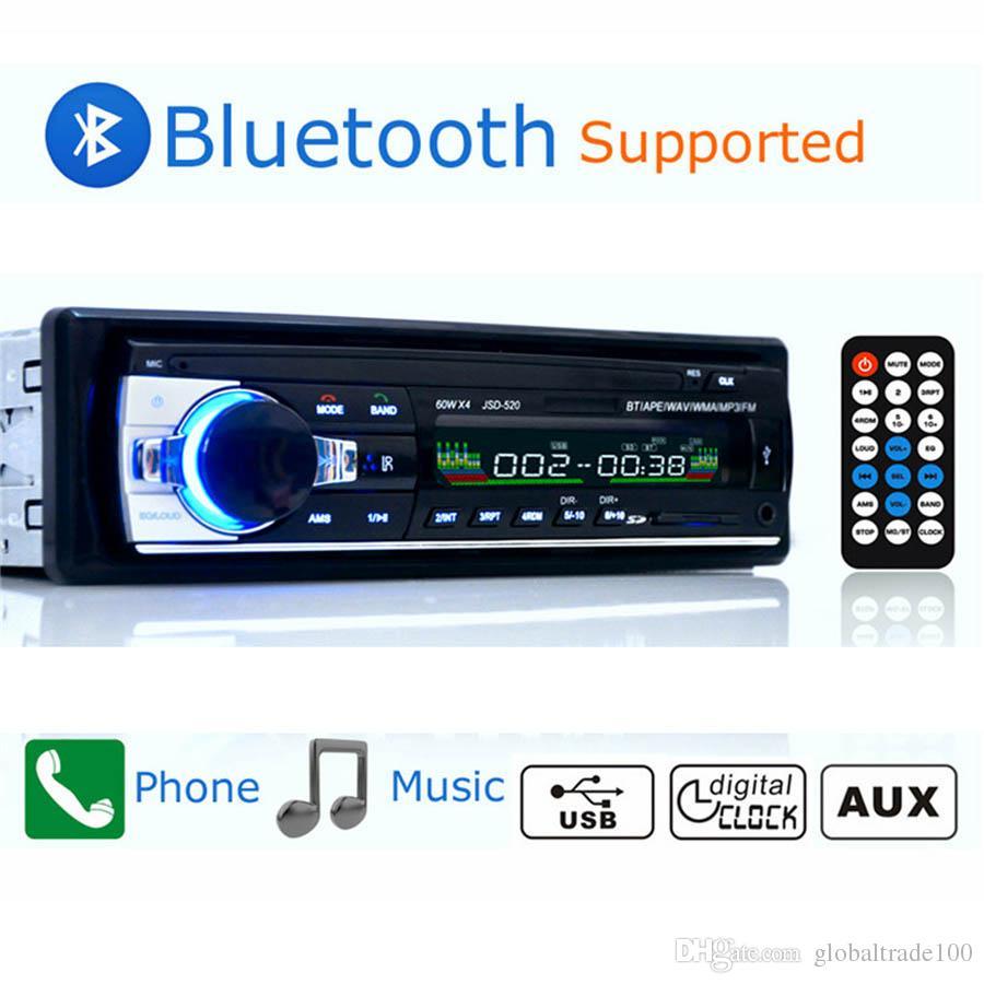 Autoradio Car Radio 12V Bluetooth V2.0 JSD520 Car Stereo In-dash 1