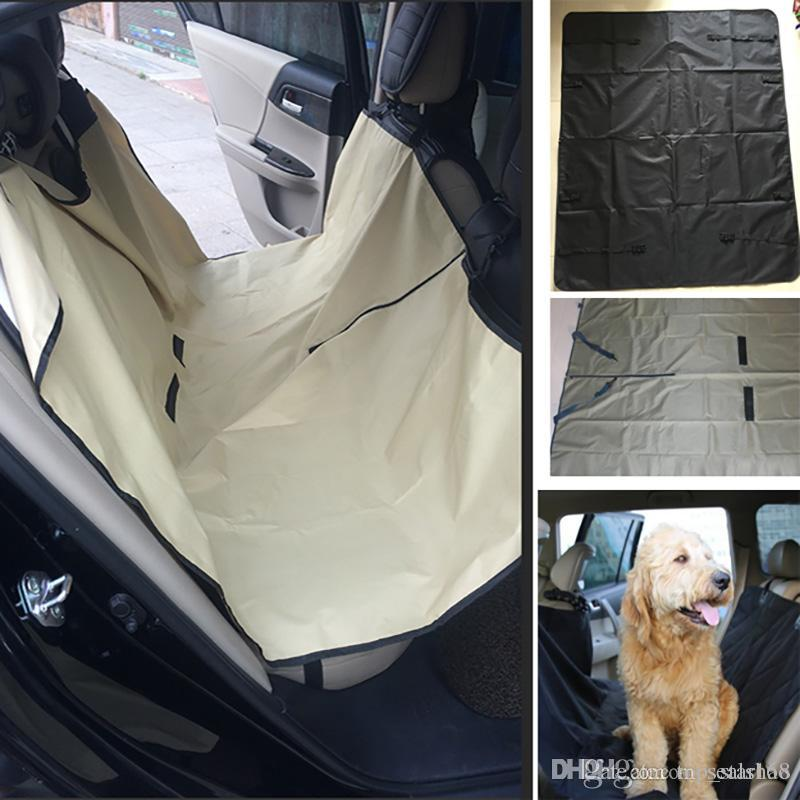 Auto Pet Dog Car Seat Covers Cat Waterproof Cushion For Cars Trucks Hammock Convertible Supplies Accessories 145130cm HH7 1249