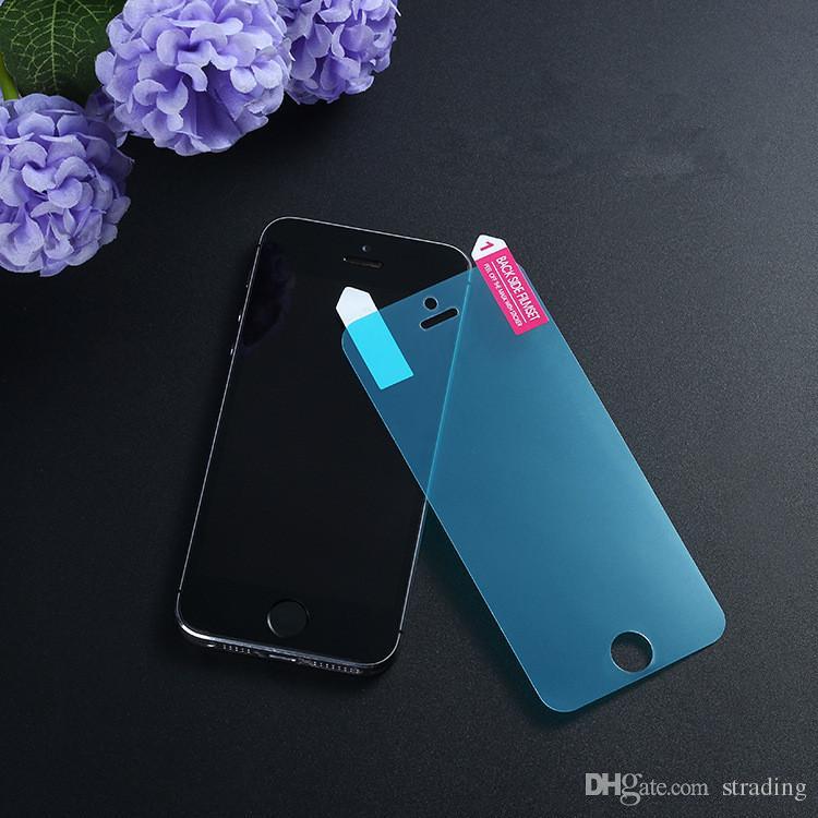 Guarda filme à prova de protecção Nano macio protetor de tela ultra-fino Explosão de rascunho para iPhone 11 Pro Max X XS XR 8 7 6 6S Além disso DHL