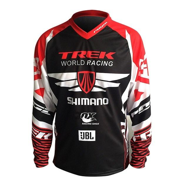 6bbf16b39 2019 Hot Sell For TREK SHIMANO Motorcycle Jersey Motocross MTB DH MX Jersey  Bicycle Cycling Bike Downhill Fast Dry Smooth From Mumianflo