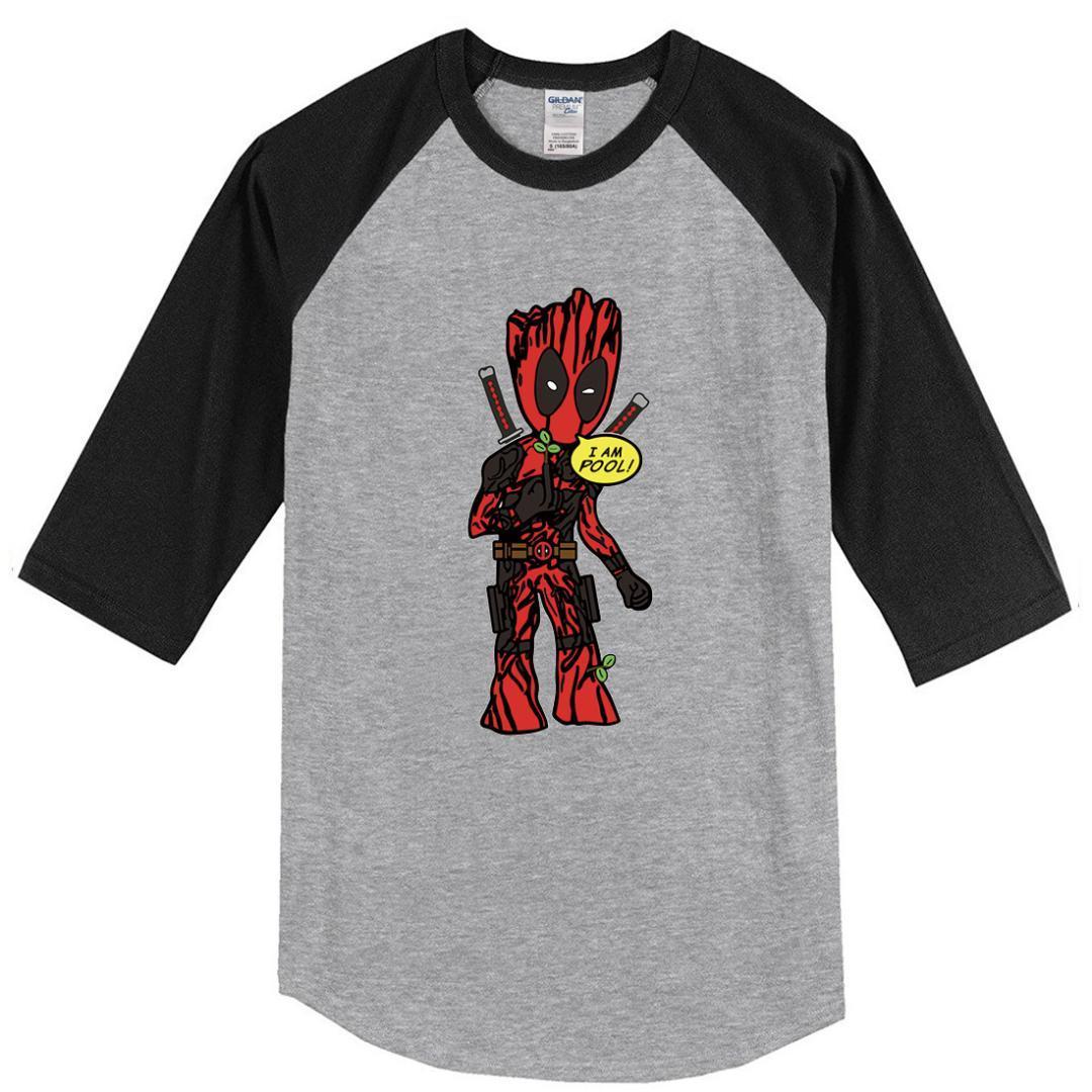 Compre Camisetas De Hombre SOY GROOT Camiseta Con Estampado De Dibujos  Animados 2018 Nueva Primavera Otoño Raglan Camiseta De Manga Tres Cuartos Hombres  Hip ... d51b04572d1