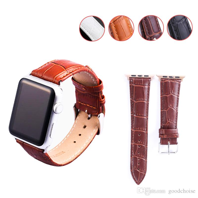 6e51ee73696 Sport Band For Apple Watch 42mm 38mm Leather Band Strap Replacement IWatch  Bands For Apple Watch Series 4 Series 3 2 1 Iwatch Straps Rubber Watch  Straps ...