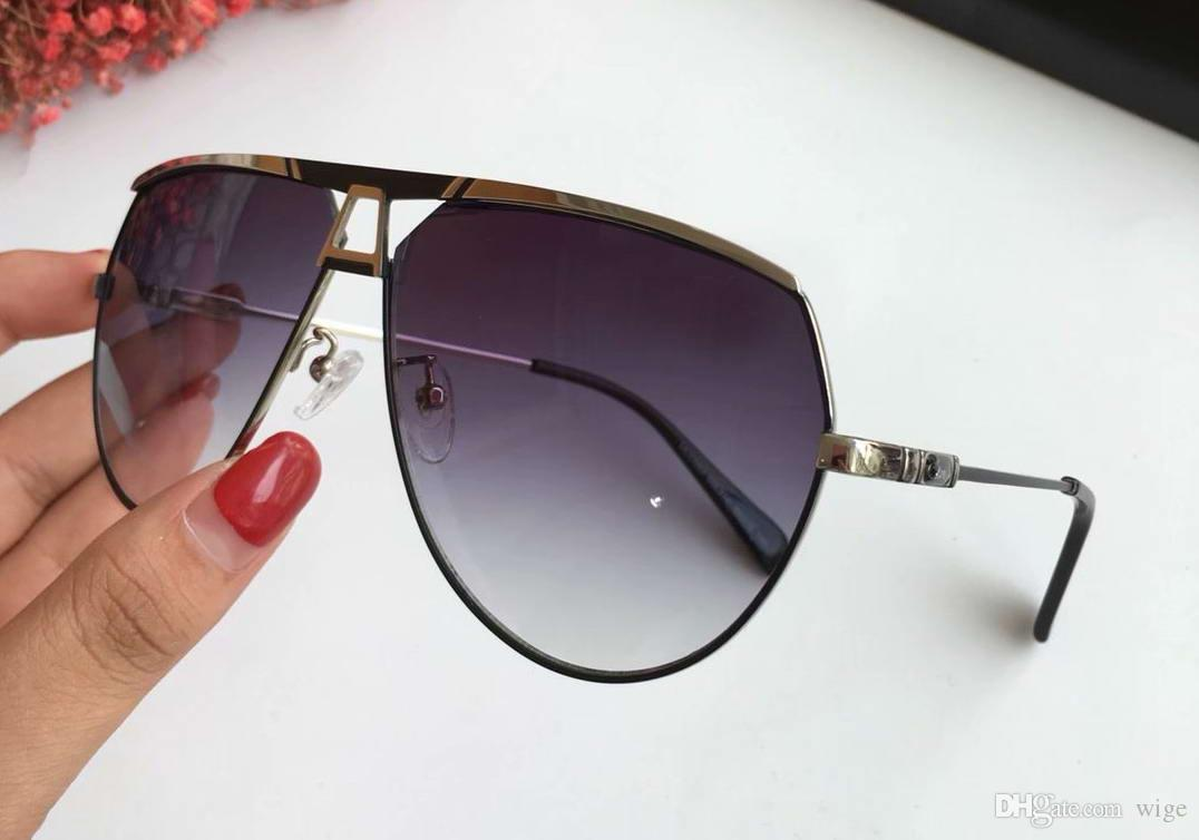 54a06b07a48 Legends Black Gold Metal Pilot Sunglasses Grey Gradient Lens 953 Glasses  New With Box Boots Sunglasses Tifosi Sunglasses From Wige