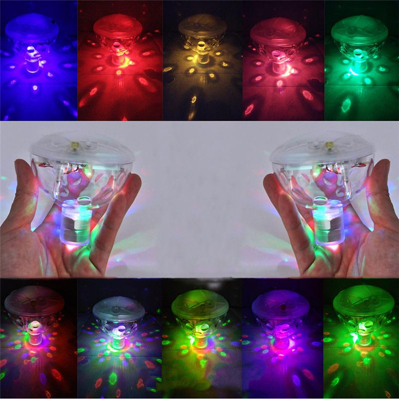 2018 Led Glowing Underwater Fountain Light Show Waterproof Disco ...