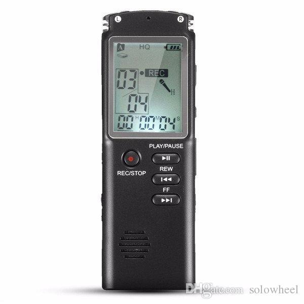 Diktiergerät Mit Spracherkennungssoftware T60 8GB Tragbare Wiederaufladbare  LCD Digital Audio Voice Recorder Diktiergerät Mit Festnetz Telefon Aufnahme  Kit ...