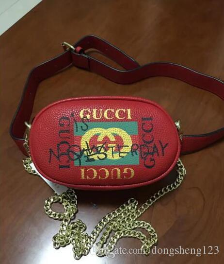 fc486891a4770f Women Leather Waist Bag Luxury Brand Designer Belt Bag Men Waist ...