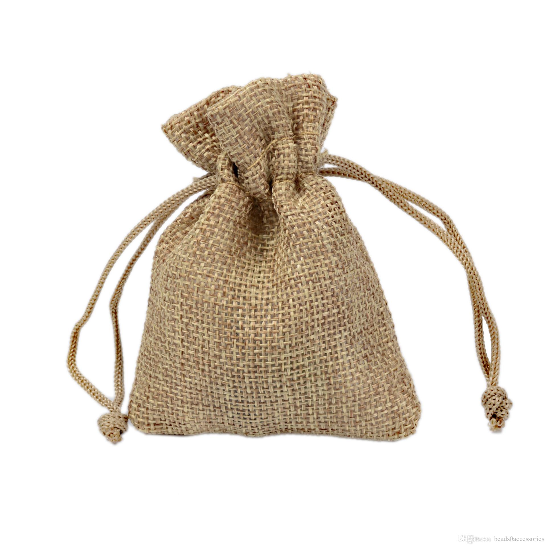 2019 7x9cm 9x12cm Mini Pouch Jute Bag Linen Hemp Jewelry Gift Pouch Drawstring Bags For Wedding Favors,Beads From Beads0accessories, $0.37 | DHgate.Com