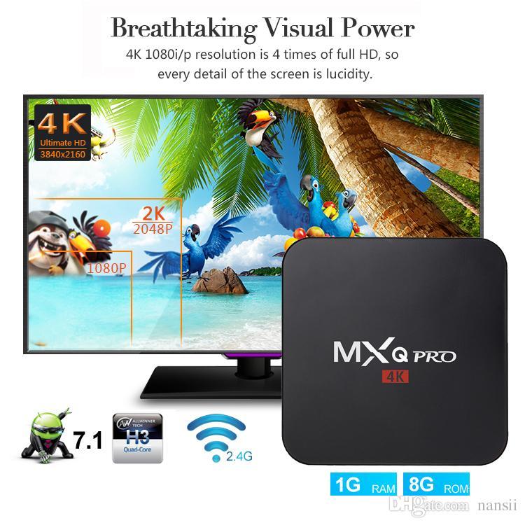 Web Tv Box Mxq Pro Android71 Tv Box Mxq Pro Rk3229 Quad Core 64 Bit
