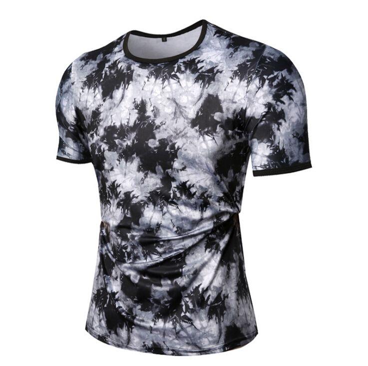 81c7ab413bd New Splash Ink Print Black T Shirt Simple Summer Cool Tee Fashion Casual  Men Women Street Skateboard Short Sleeves Fun Shirt Designs For T Shirts  From ...