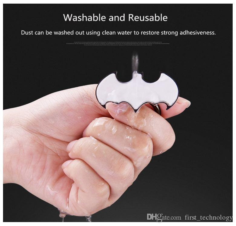 최고 품질 박쥐 손가락 반지 홀더 범용 휴대 전화 반지 아이폰에 대 한 소매 패키지와 마그네틱 스탠드 Sumsung 모든 핸드셋