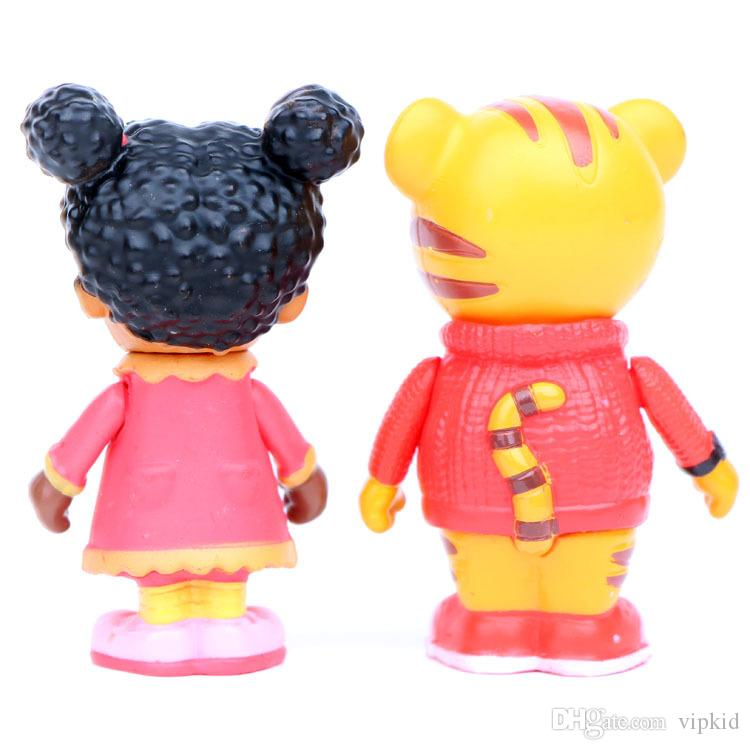 Tiger Daniel 5 Daniel and Neighbors Katerina Hand Office Cake Doll Decoration Pendulum Best toys for kid
