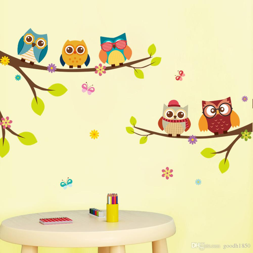 2018 fashion childrens DTY home wall stickers,nice pvc materials water proof,no colour fade,Eco-friendly wall stickers