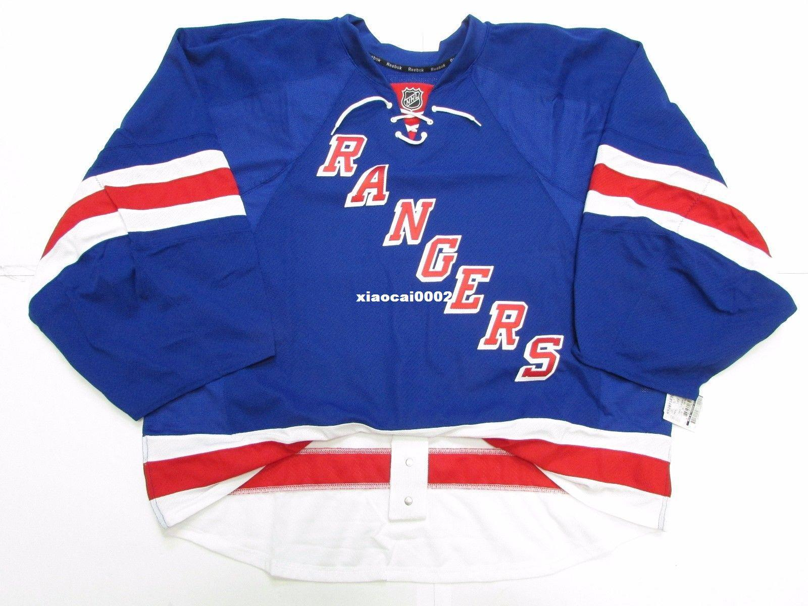 c1c6d5260 Cheap Custom NEW YORK RANGERS AUTHENTIC HOME EDGE JERSEY GOALIE CUT 60 Mens Stitched  Personalized Hockey Jerseys Cheap Goalkeeper Cut Goalkeeper Cut ...
