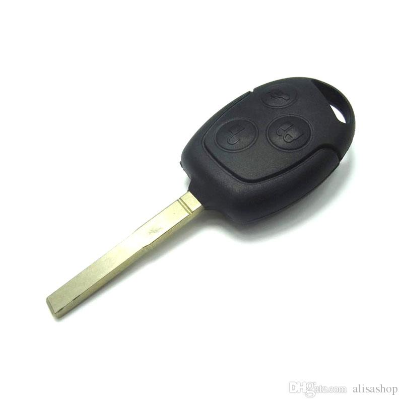 3 Buttons For Ford Focus Transit Fob Key Cover Covers Case Uncut Blade  Remote Key Shell for Ford Mondeo Festiva Fusion