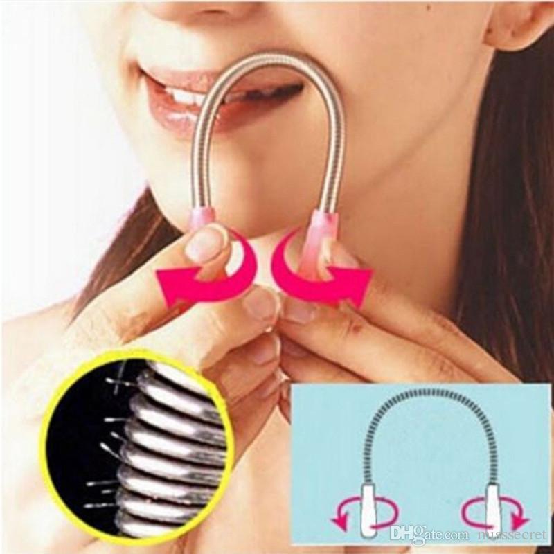 Facial Hair Remover Spring Threading Manual Women Facial Hair Epilator Shaver Beauty Makeup Tools Skin Care