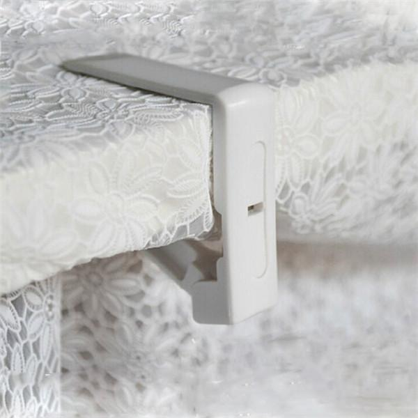 Online Cheap White Plastic Table Cloth Cover Clips Cover Clamp Desk Cloth  Holder Spring Loaded Tablecloth Clip Party Picnic Supplies Ko673910 By  Shutie ...