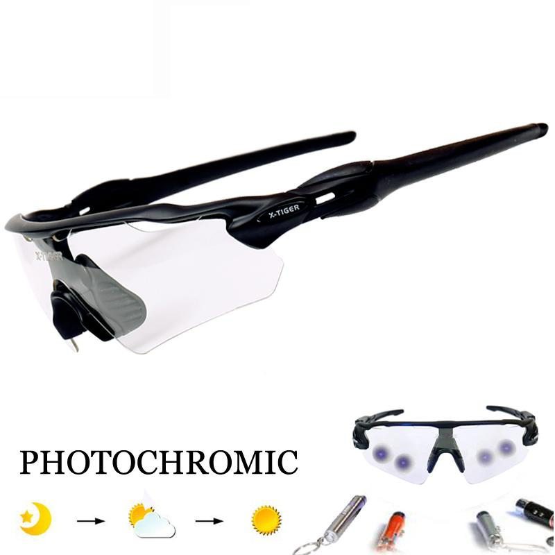 5b9268a39a Pro Photochromic Cycling Glasses Racing Bicycle Eyewear Polarized ...