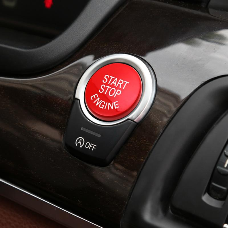 Styling Engine Start Stop Button Cover Replace for BMW F Series F12 F10 F20  F30 3 4 5 6 7 Series X5 X6