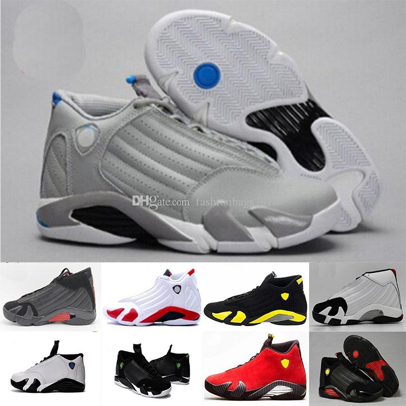 c9b0928af65a37 14 XIV DESERT SAND Men Basketball Shoes 14s BRED LAST SHOT Black Toe Candy  Cane Sports Shoes Sneakers Women Boots Outdoor Athletics Basketball Shoes  For ...
