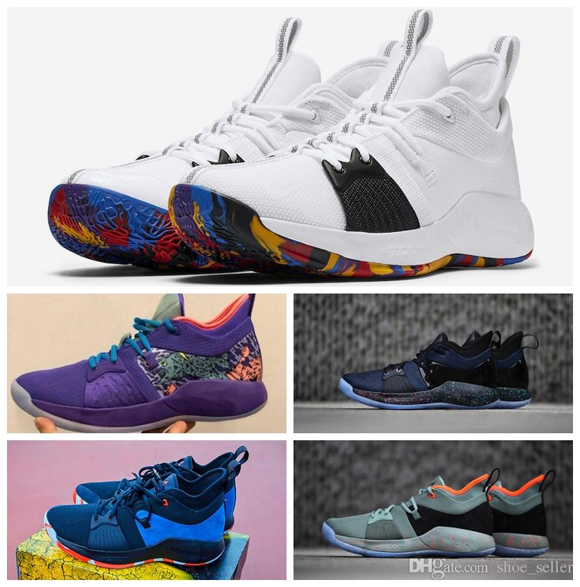 73932df4f184 2018 Lights UP PG 2 PlayStation Taurus Road Master Basketball Shoes For Paul  George II PG2 2s PS Athletic Sport Sneakers Size 40 46 Boys Basketball Shoes  ...