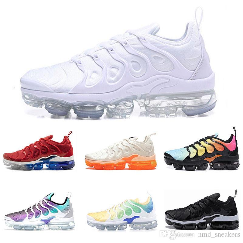 794de3780ec74 Designer Cheap TN Plus BE TURE Men Running Shoes USA TRIPLE WHITE ...