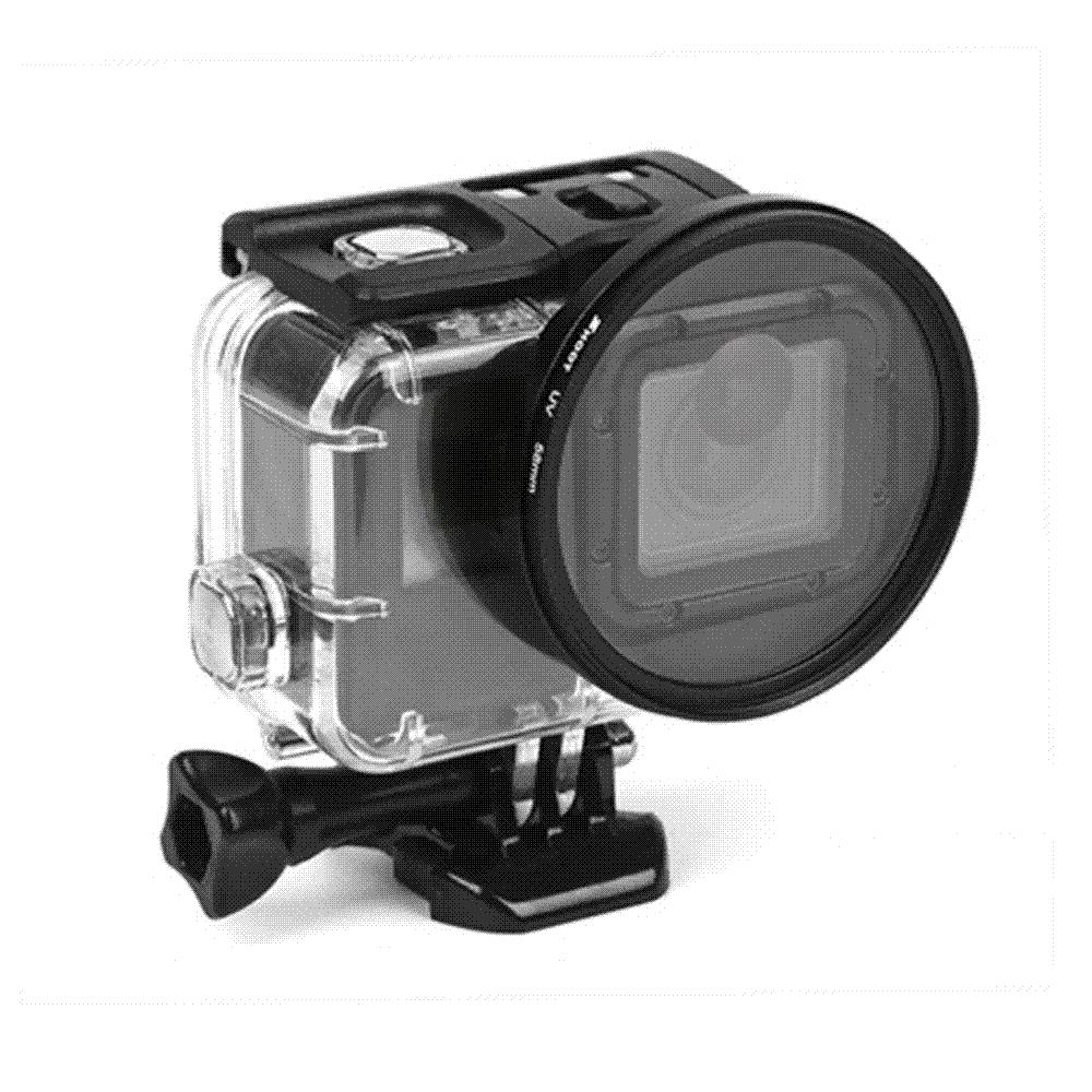 fa8db3841d5 2019 SHOOT 58mm Lens Filter Set For GoPro Hero 6 5 Black Waterproof Case  With Adapter Ring Diving Filter For GoPro Hero 5 Accessories From  Mymother007