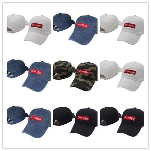 New Fashion Savage Baseball Cap Embroidery Men Dad Hat Cotton Bone Women  Snapback Caps Hip Hop Sun Fashion Caps Baseball Hat Hat Store From  Hotcap10 2755c419ad4a