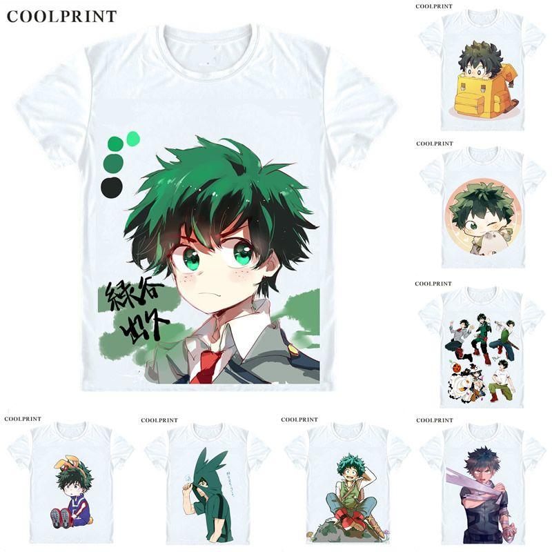 1af8f0752 Midoriya Izuku T Shirt Boku No Hero Academia My Hero Academia Men Casual  TShirt Premium T Shirt Printed Short Sleeve Shirts T Shirts Online Shopping  Buy T ...