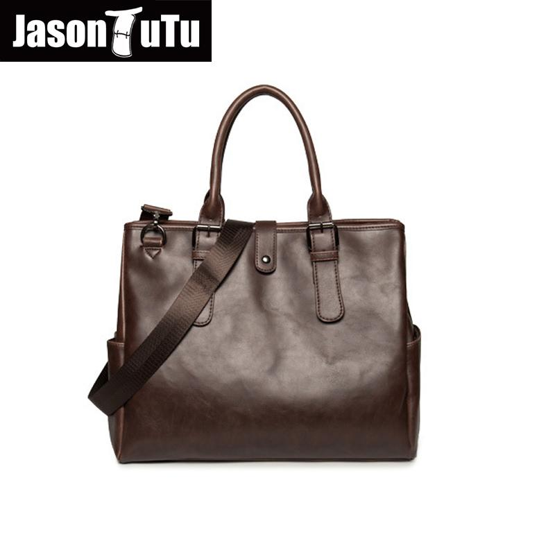 JASON TUTU Original design men bag genuine leather bag travel handbag /Brand Crossbody bags for men tote Promotions B238