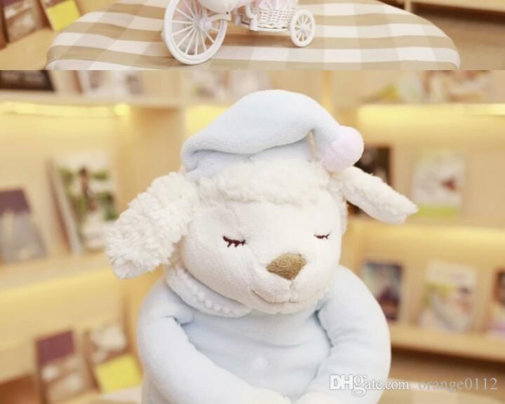 Happy Birthday To Baby Goat Doll Plush Toy Baby Sheep Pillow Cute