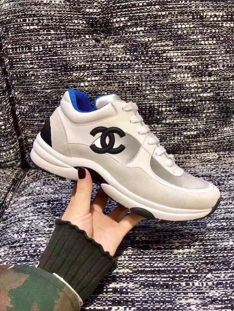 Super Marke Designer Schuhe Mode lässig Sneakers Top-Qualität Leder Arbeit Superstars Damenschuhe Lieferung frei Haus mit Schuhkarton AIR21