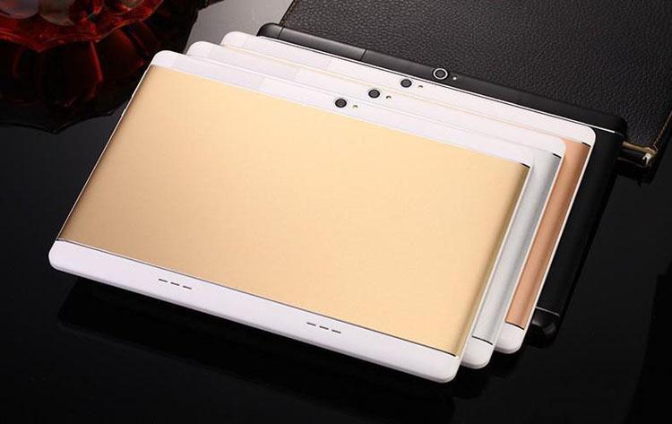 Alta qualidade Octa Núcleo de 10 polegada MTK6582 IPS tela de toque capacitivo dual sim 3G tablet telefone pc android 6.0 4 GB 64 GB MQ10