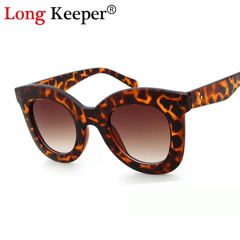 24f26f8c9e Long Keeper Cat Eye Women Sun Glasses Fashion Leopard Brand Designer Mens  Sunglasses Retro Ladies Eyewears Oculos UV400 STY5690M Mens Sunglasses  Police ...