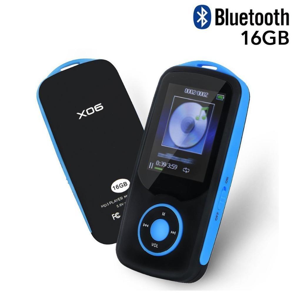 Unterhaltungselektronik Mp3-player 2018 Neueste Verbesserte Version Von Ruizu X06 Mp3 Musik Player Mit Bluetooth 16 Gb Unterstützung Bis Zu 64 Gb Sd Karte Bluetooth Mp3 Player