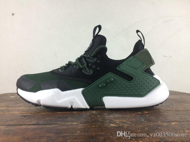 f5587876a Compre Nike De Calidad Superior 2018 New Human Race Hombres Huarache 2.0  DRIFT BR Wallace 6 Run Shoes Sneakers Originals Classic Casual Shoes A   94.48 Del ...