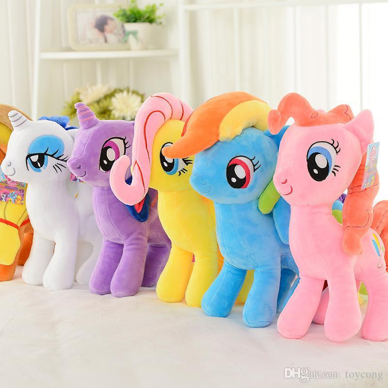 1d01d8aa13d 2019 2018 New Anime Cartoon Unicorn Kawaii Ty Beanie Boos Unicornio Plush  Toy Dolls Rainbow Pony Toys For Children Licorne Short Plush Doll From  Toycong